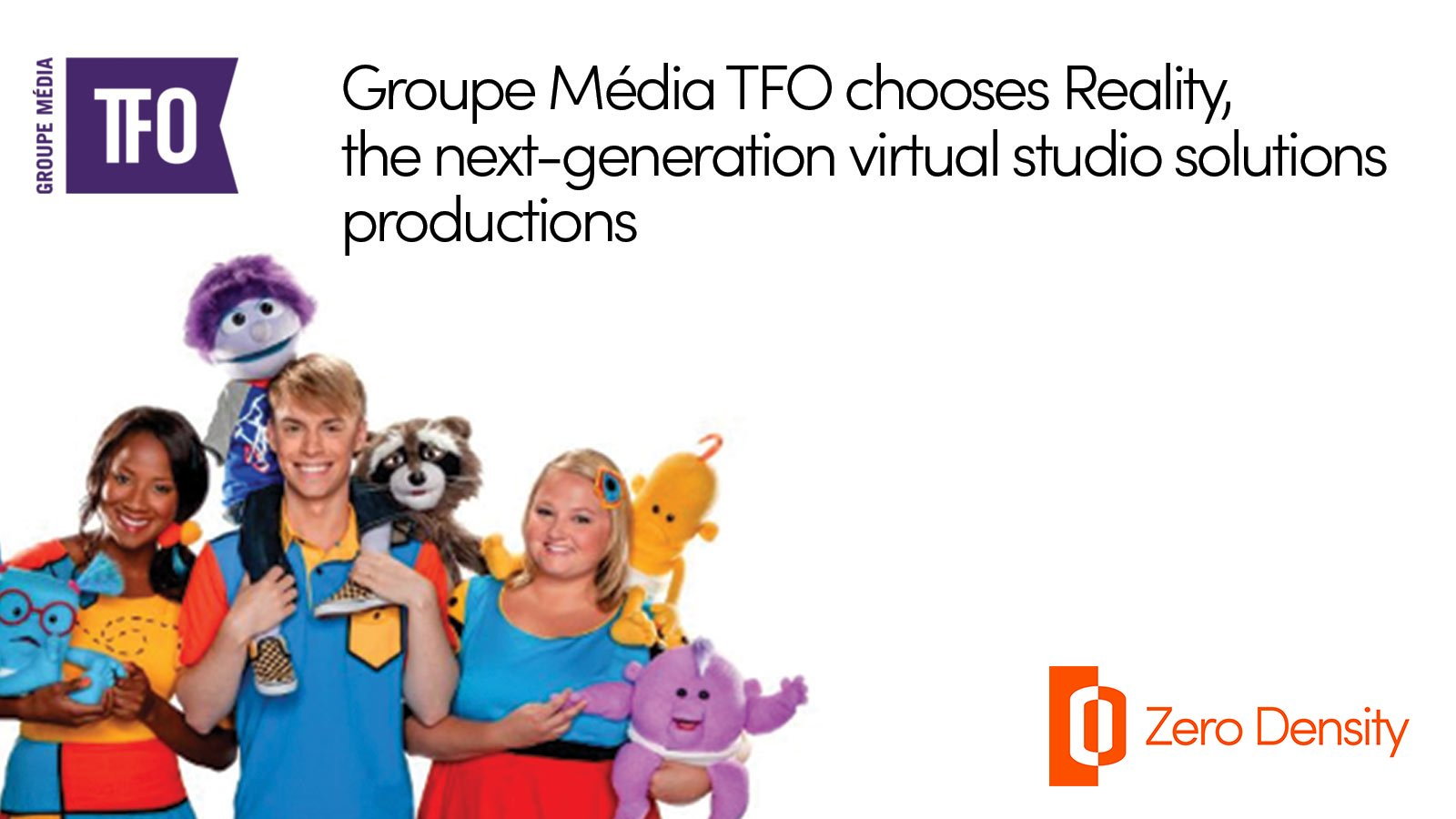 groupe media tfo with reality