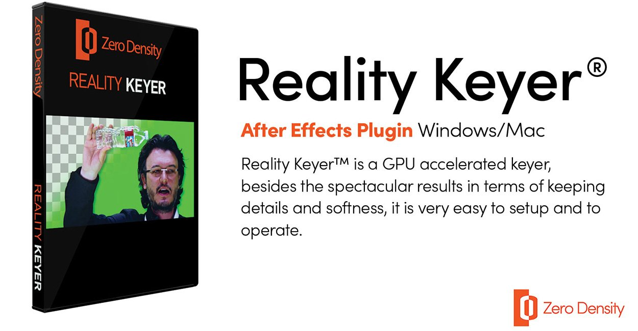 Reality Keyer Plugin for After Effects