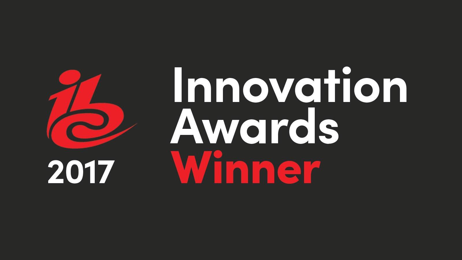 ibc2017 innovation awards winner