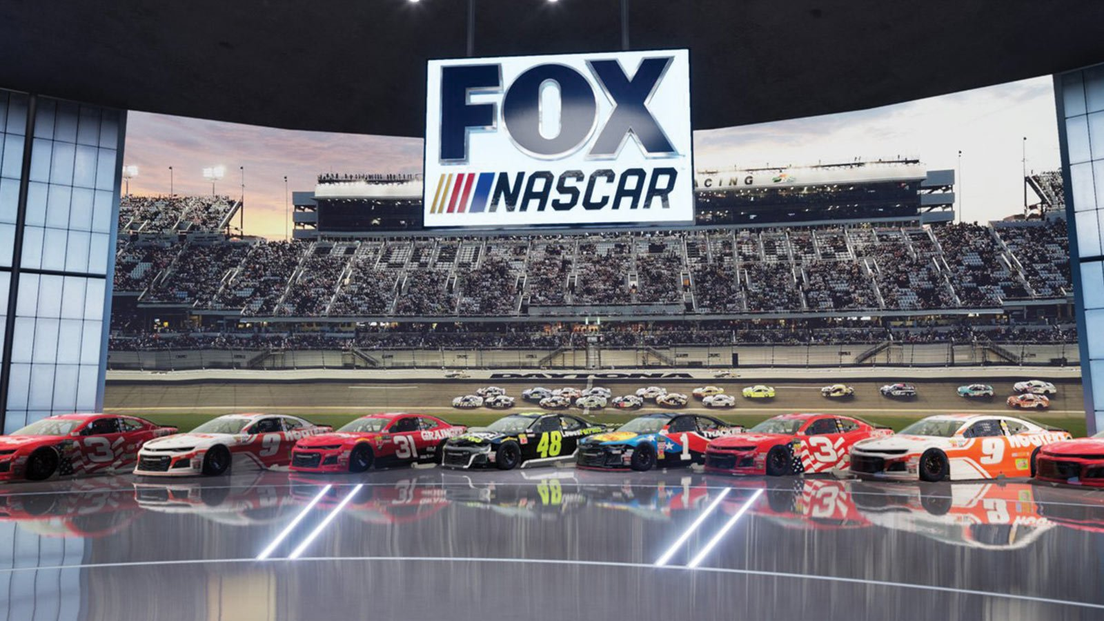 fox sports reality virtual studio