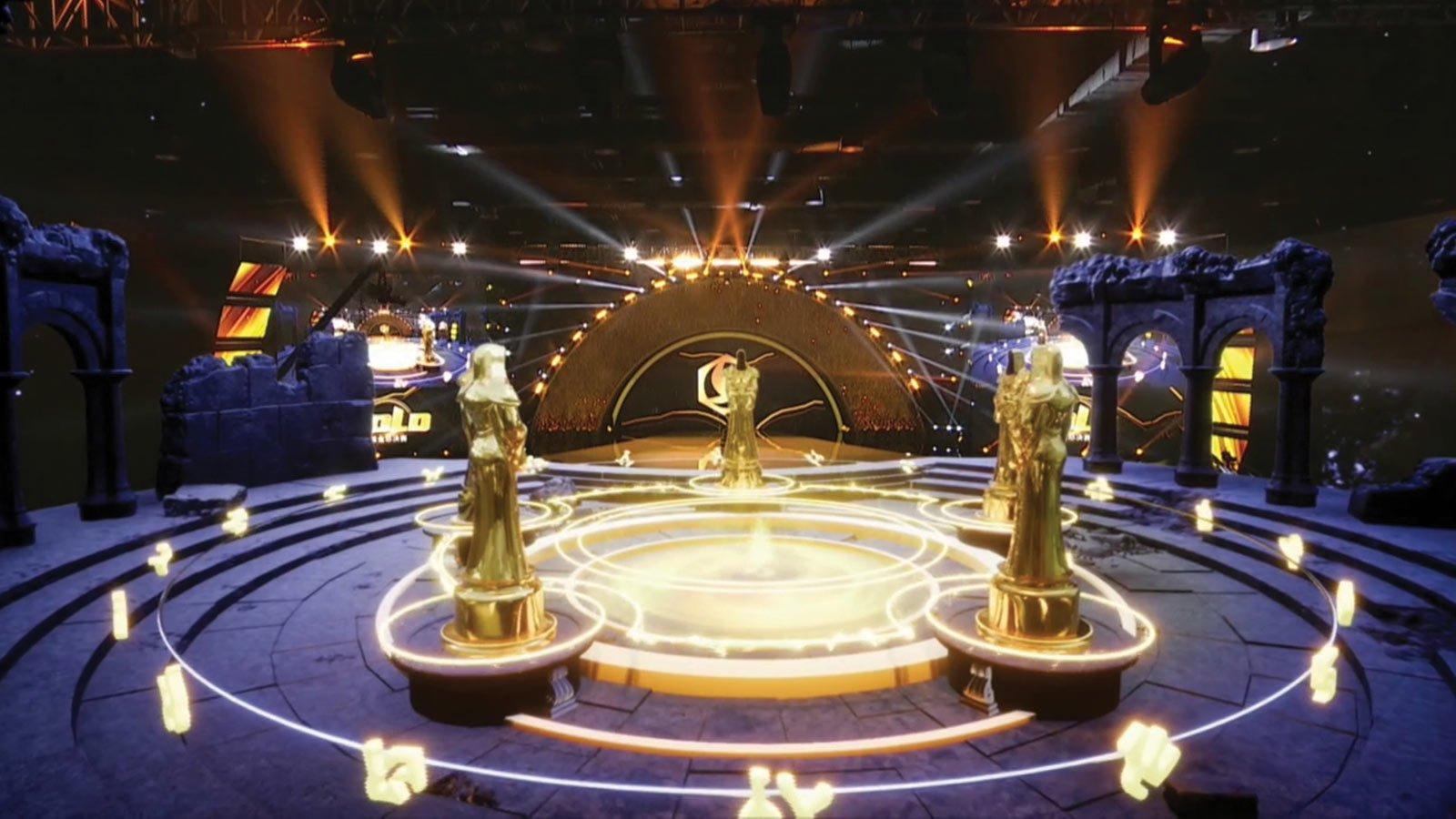 zero density gold series annual awards ceremony