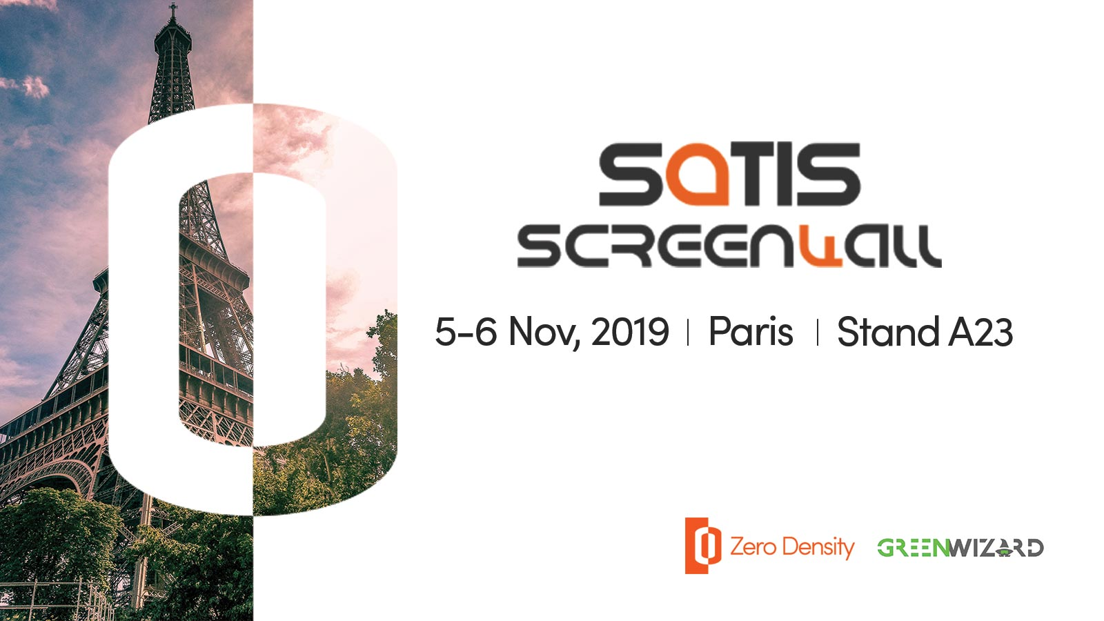 Satis Screenwall 2019