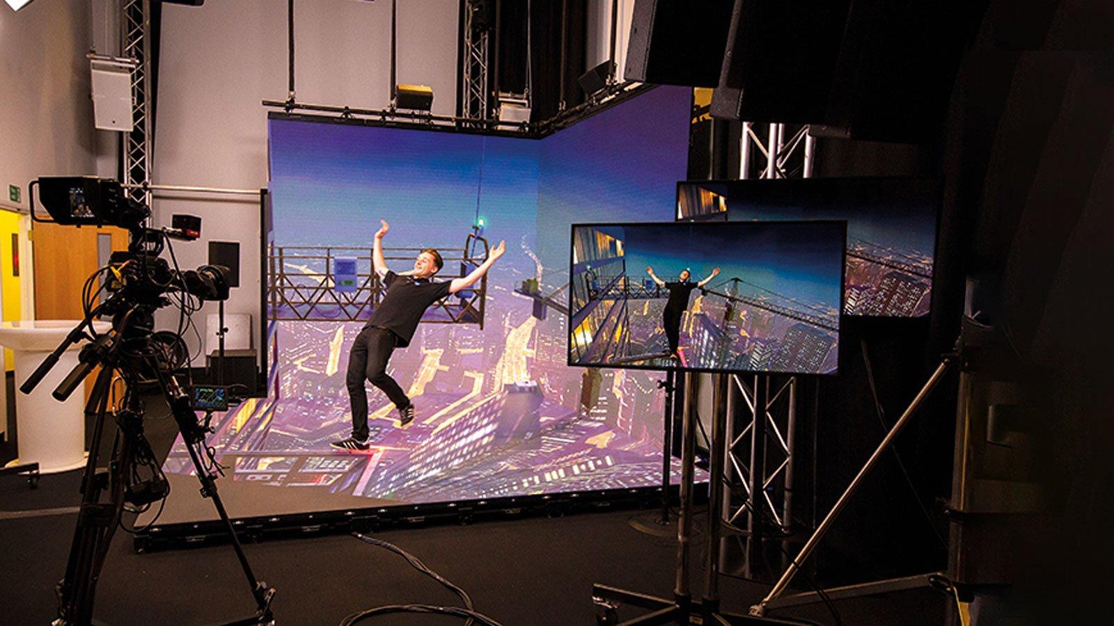 virtual sets gets real