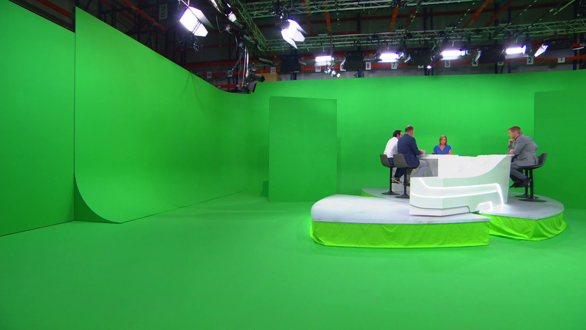 DreamWall delivers photorealistic virtual set for BeTV - Zero Density